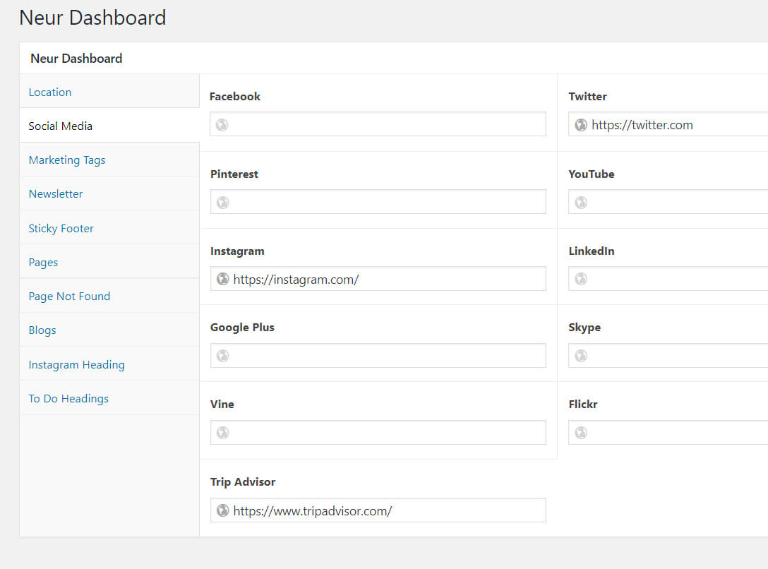 Editing Websites Without Knowing HTML - Neur Dashboard