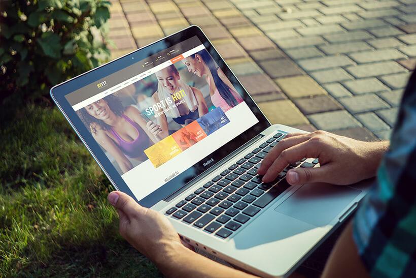 Fitness WordPress Website Theme